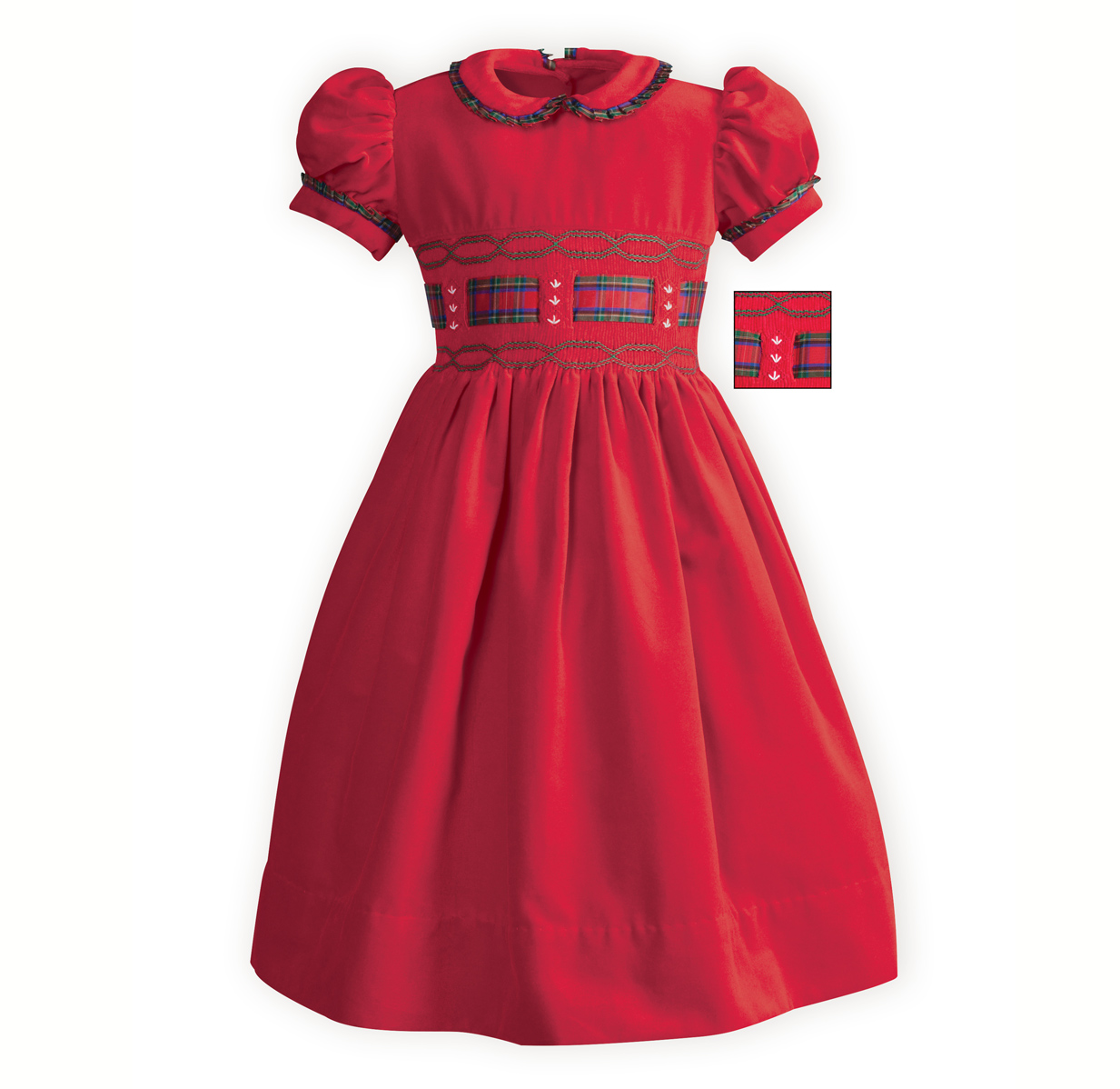 Baby girl red christmas dress help you stand out