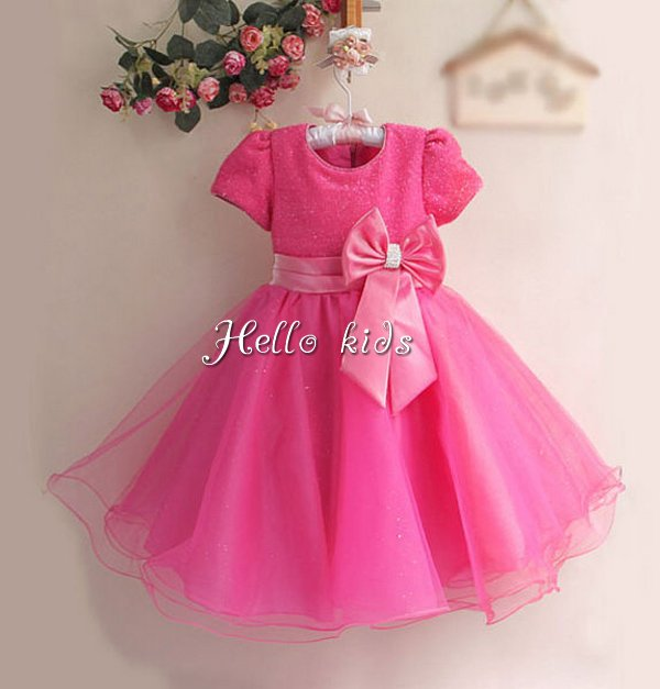 Baby Girl Red Party Dress : Beautiful And Elegant - Dresses Ask