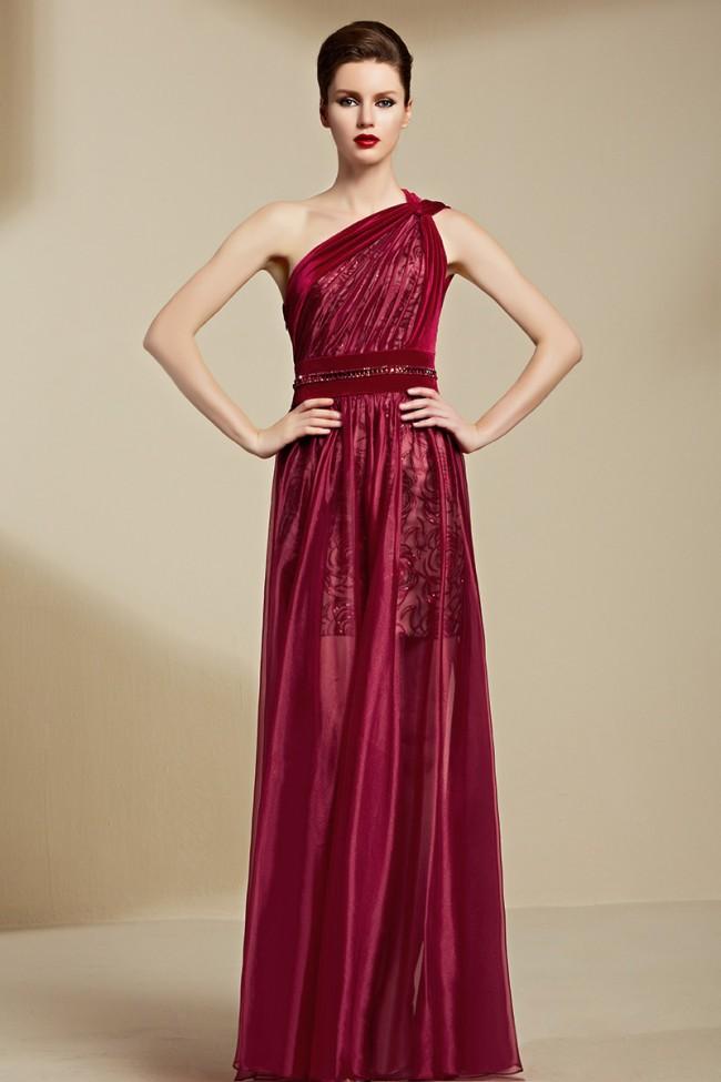 Купить Бордовое Вечернее Платье