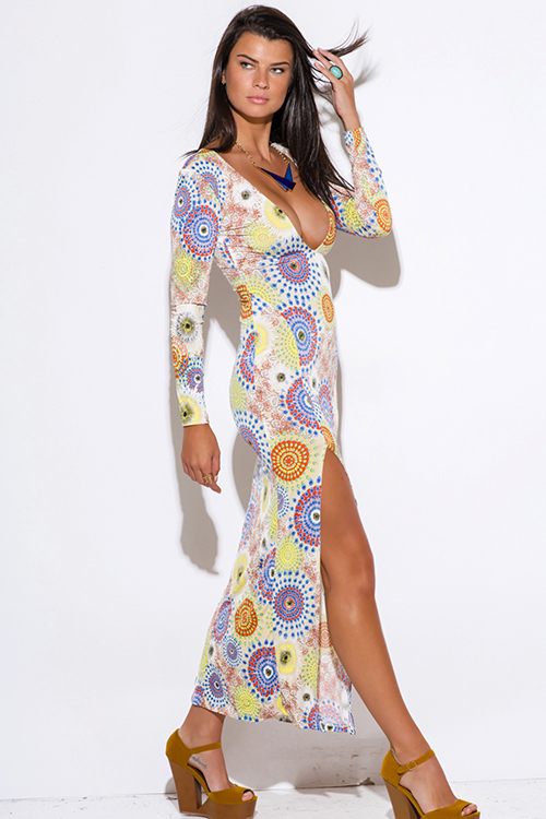 Backless Long Sleeve Maxi Dress And Perfect Choices