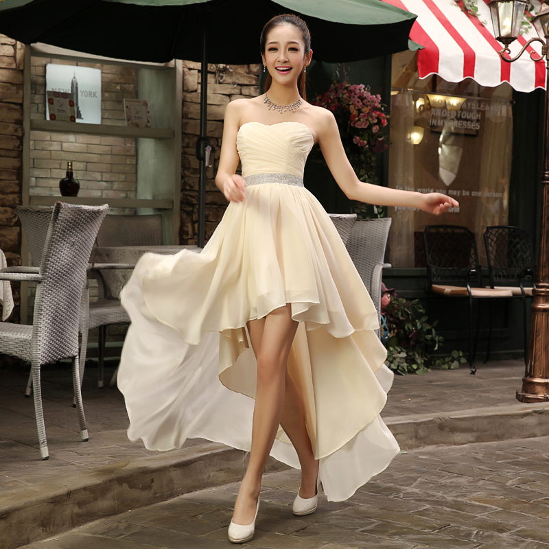 Best long dress style for petite