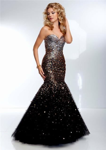Black And Gold Dresses For Prom - Ocodea.com