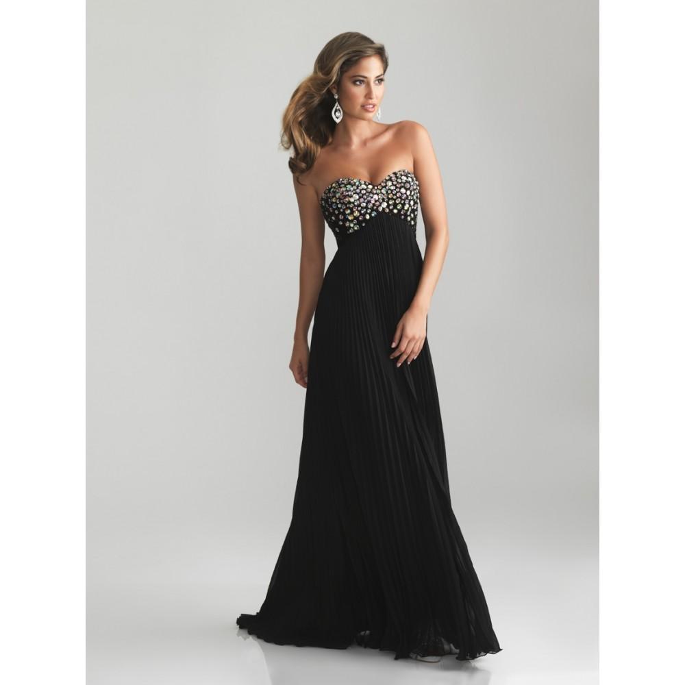 Black Long Elegant Evening Dresses And Oscar Fashion