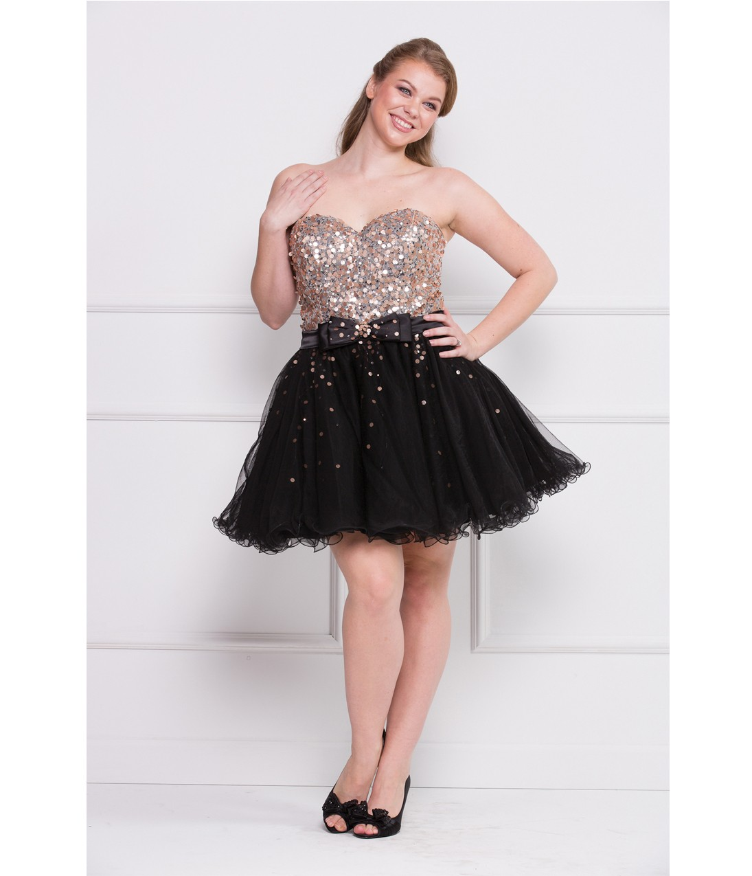 Silver Sequin Prom Dresses In Plus Size Dress Images
