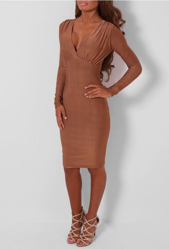 Bronze Long Dress & Always In Vogue 2017