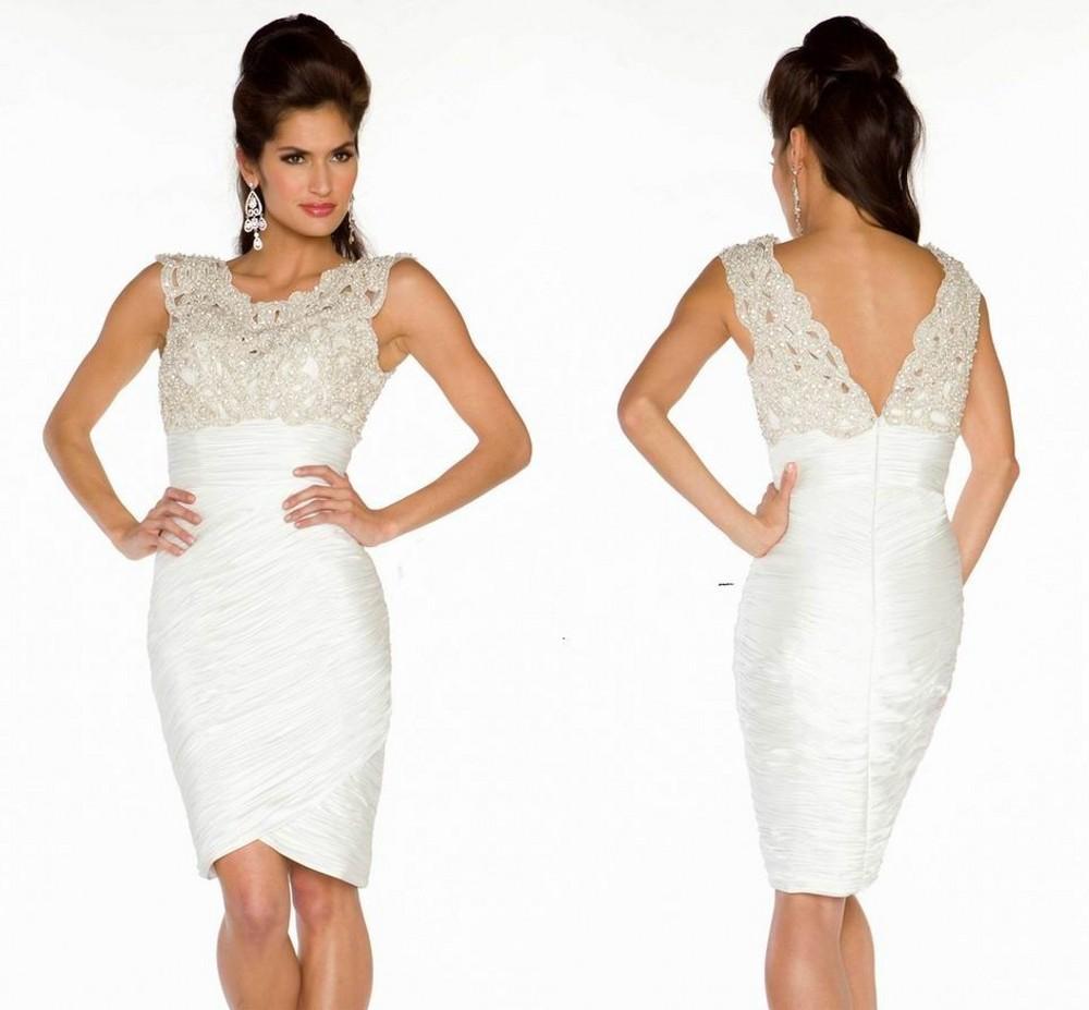 Plus Size White Dresses Cheap - Ficts