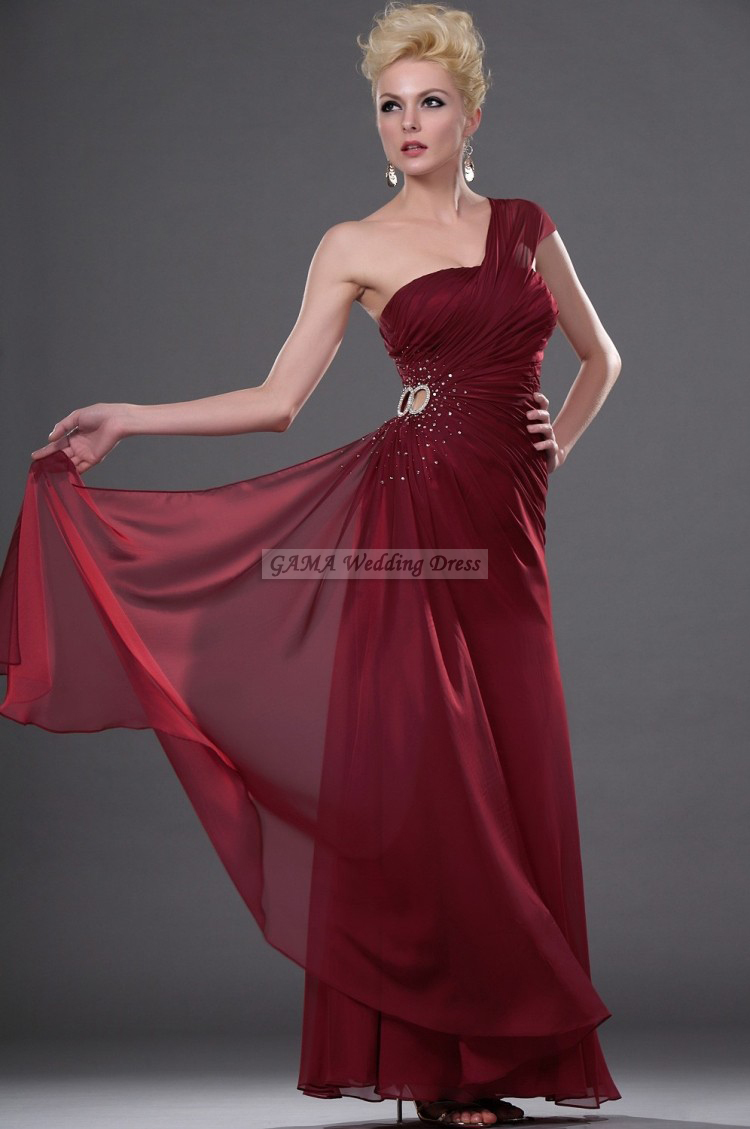 Claret red bridesmaid dresses details 2017 2018 for Wedding dresses 2017 red
