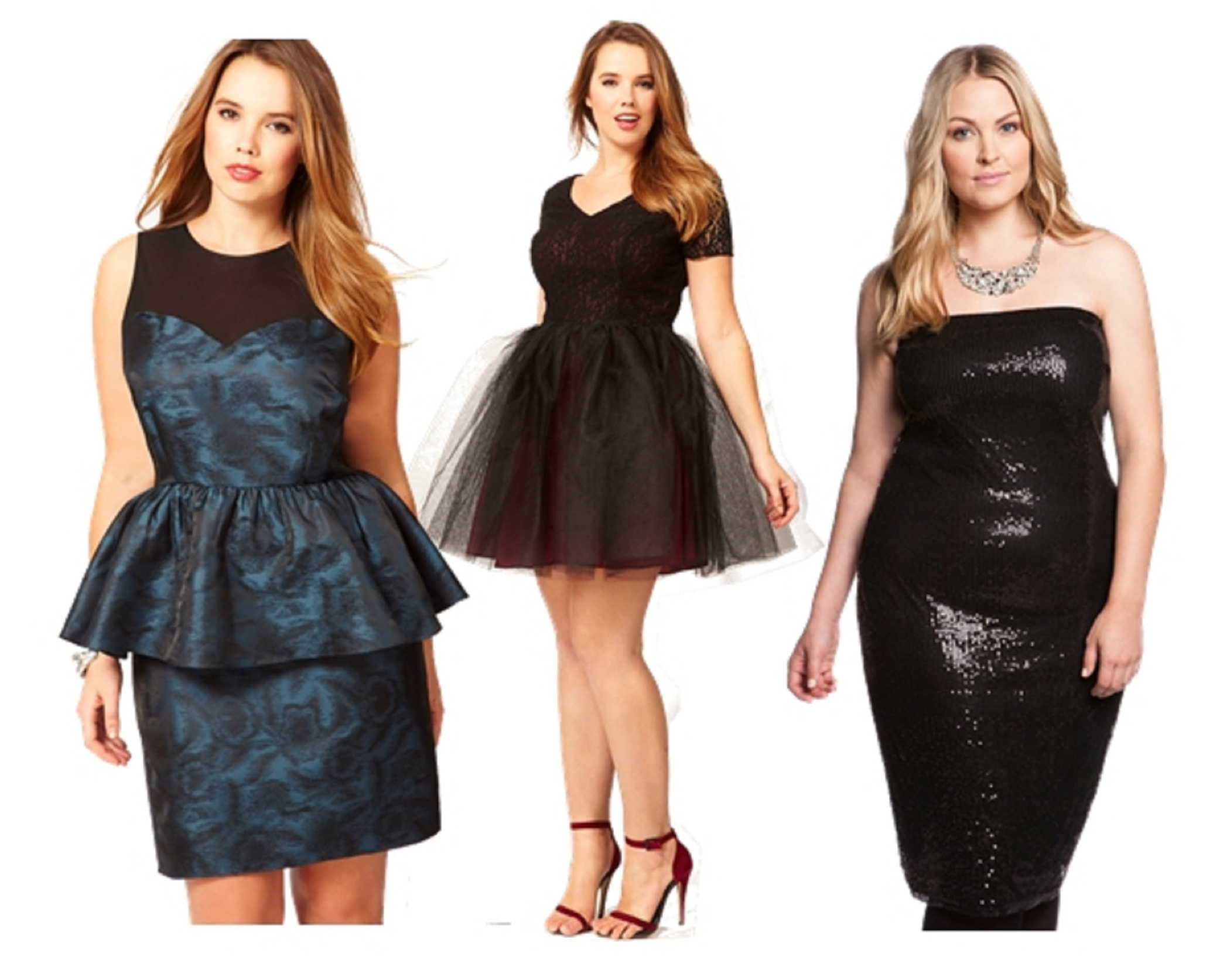 Plus dresses for women party