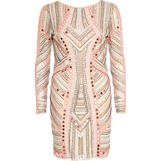 Embellished Dress River Island - 2017 Fashion Trends