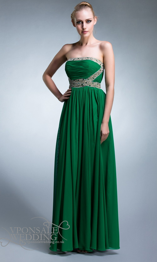 Emerald Dress For Wedding & New Trend 2017-2018
