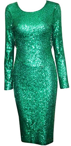 Emerald Green Backless Dress & Guide Of Selecting