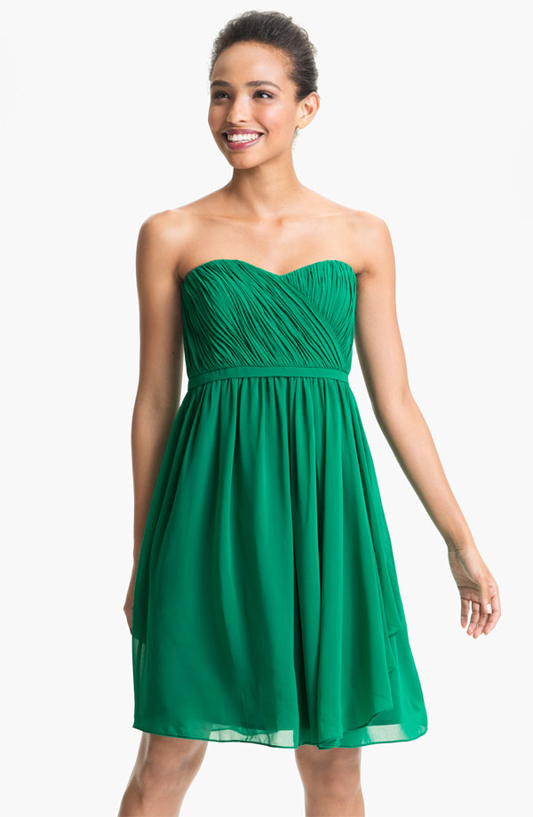 Green Short Bridesmaid Dresses - Wedding Dress Ideas