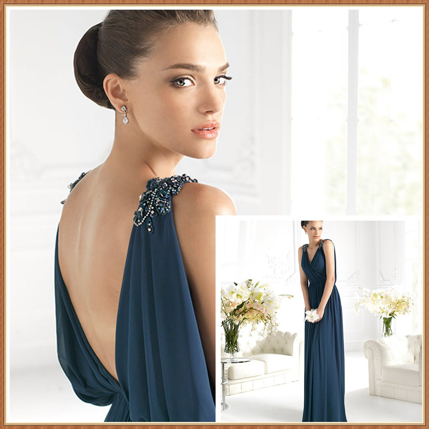 Backless Evening Gowns