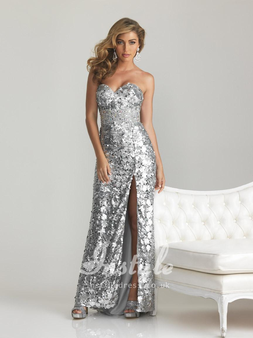 Long Sparkly Prom Dresses Photo Album - Reikian