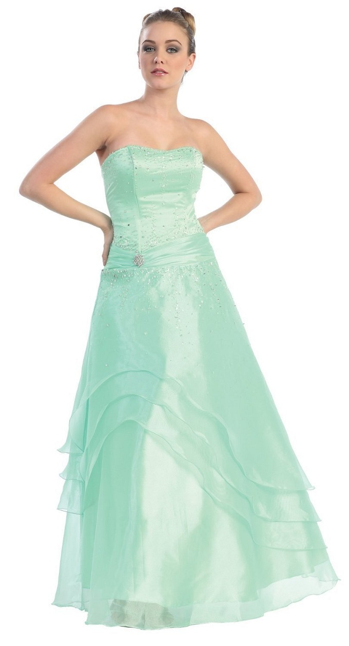 Green And Silver Prom Dresses And How To Look Good