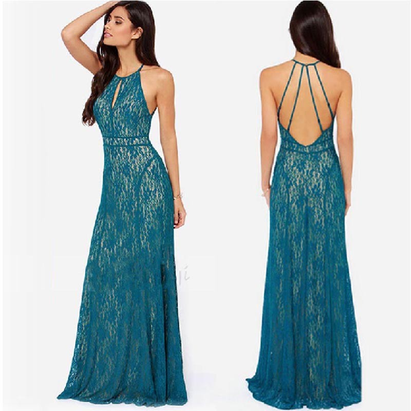 Lace Dress Backless & Show Your Elegance In 2017