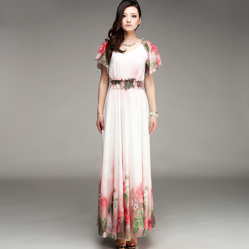 Long Dresses On Short Ladies