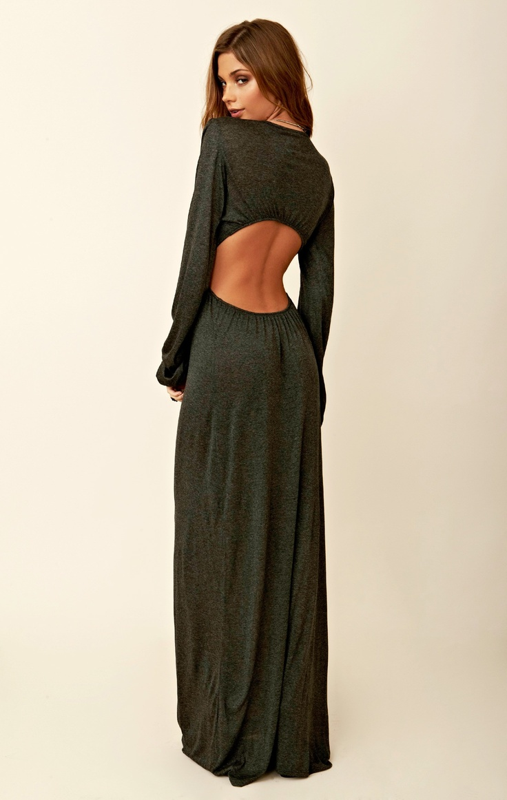 Long Sleeve Bell Sleeve Dress - New Fashion Collection