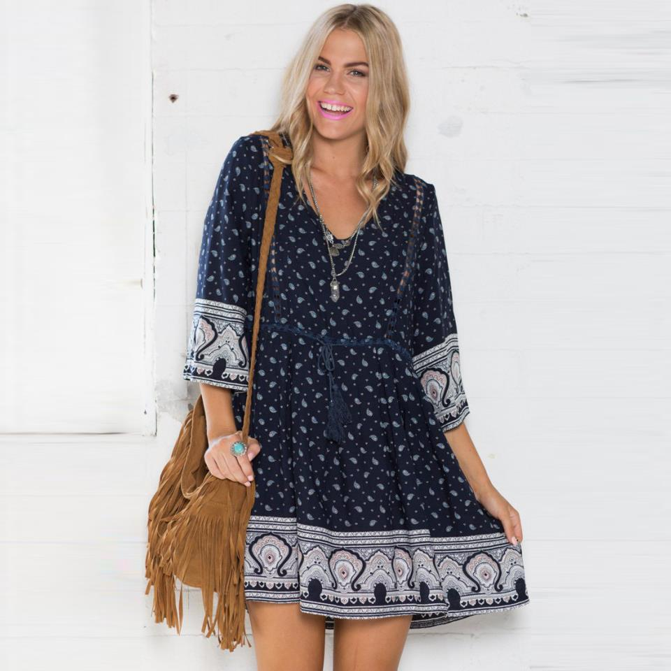 Loose Beach Dress And Make Your Life Special