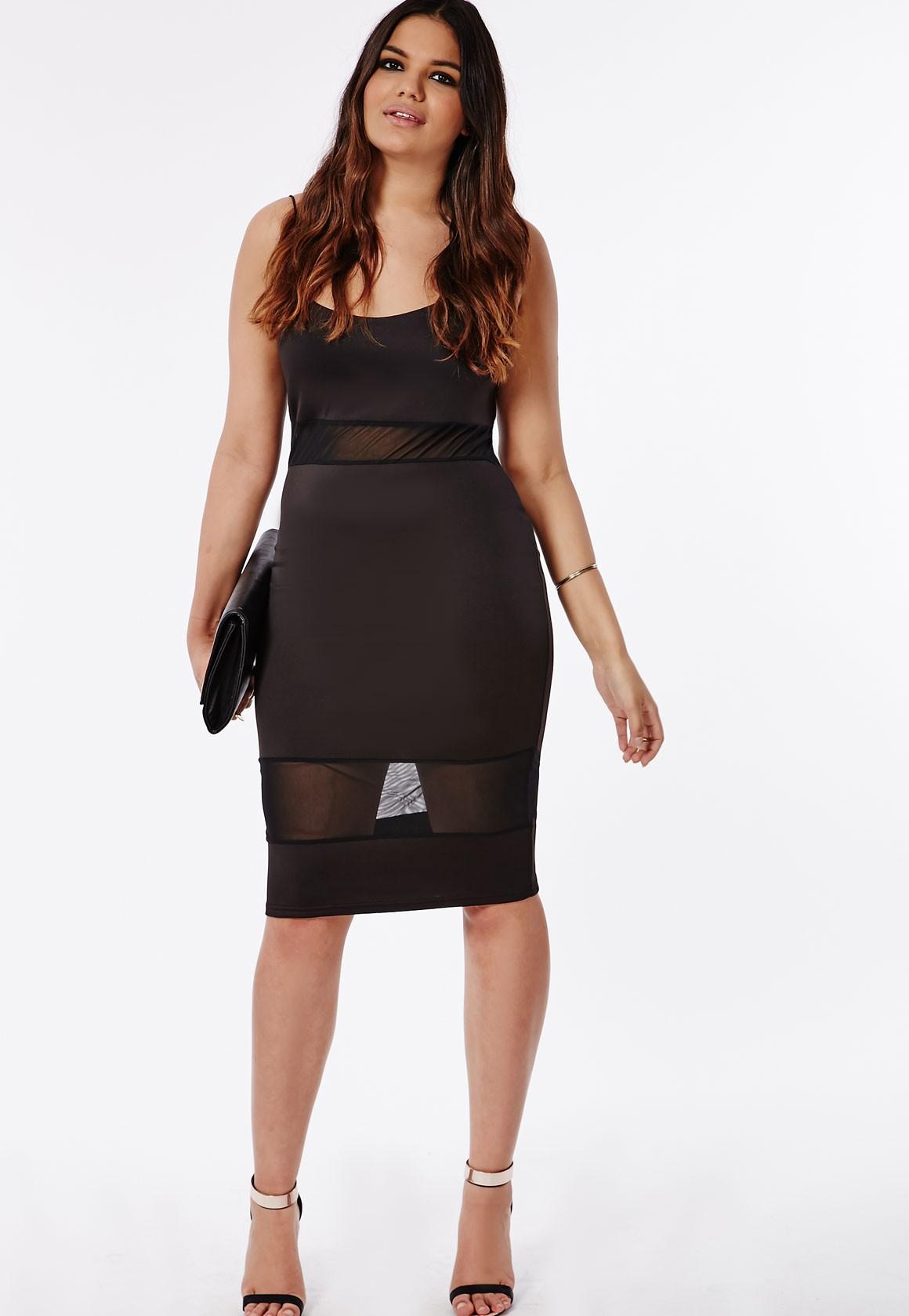 Mesh Bodycon Dress Plus Size Make You Look Like A Princess