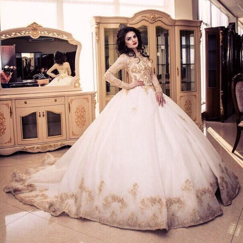 Metallic Ball Gown And Overview 2017