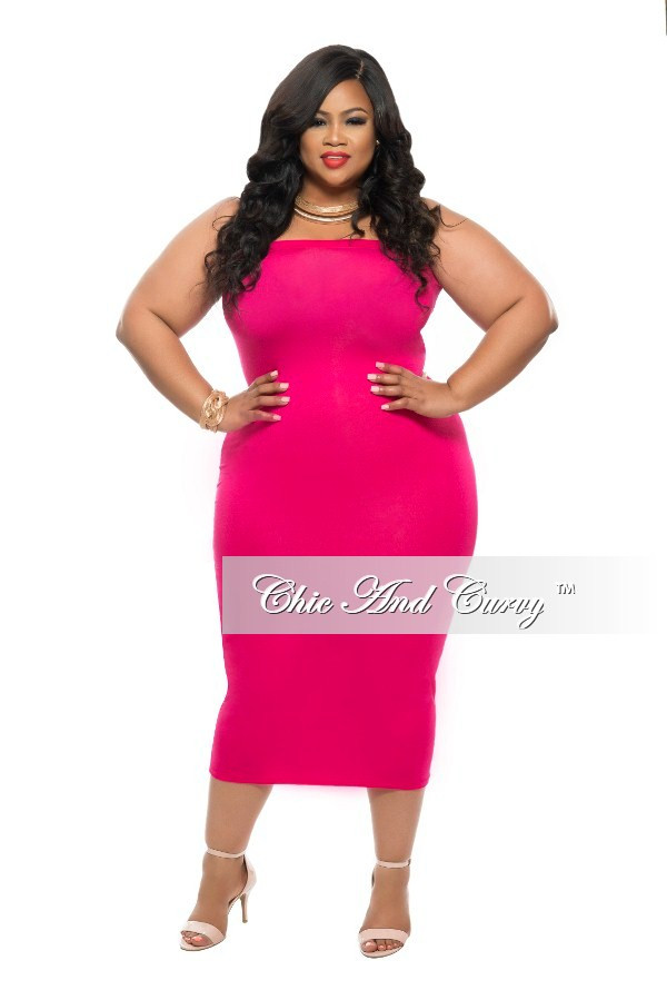 Pink Bodycon Dress Plus Size & For Beautiful Ladies - Dresses Ask