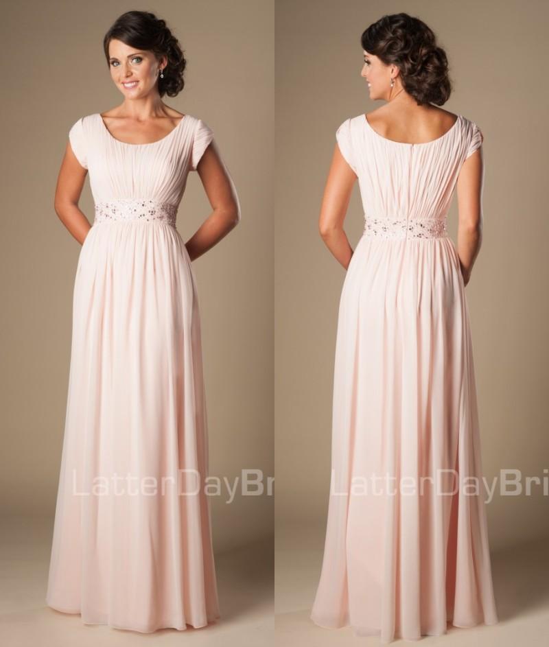 Pink Full Length Dress : Spring Style - Dresses Ask