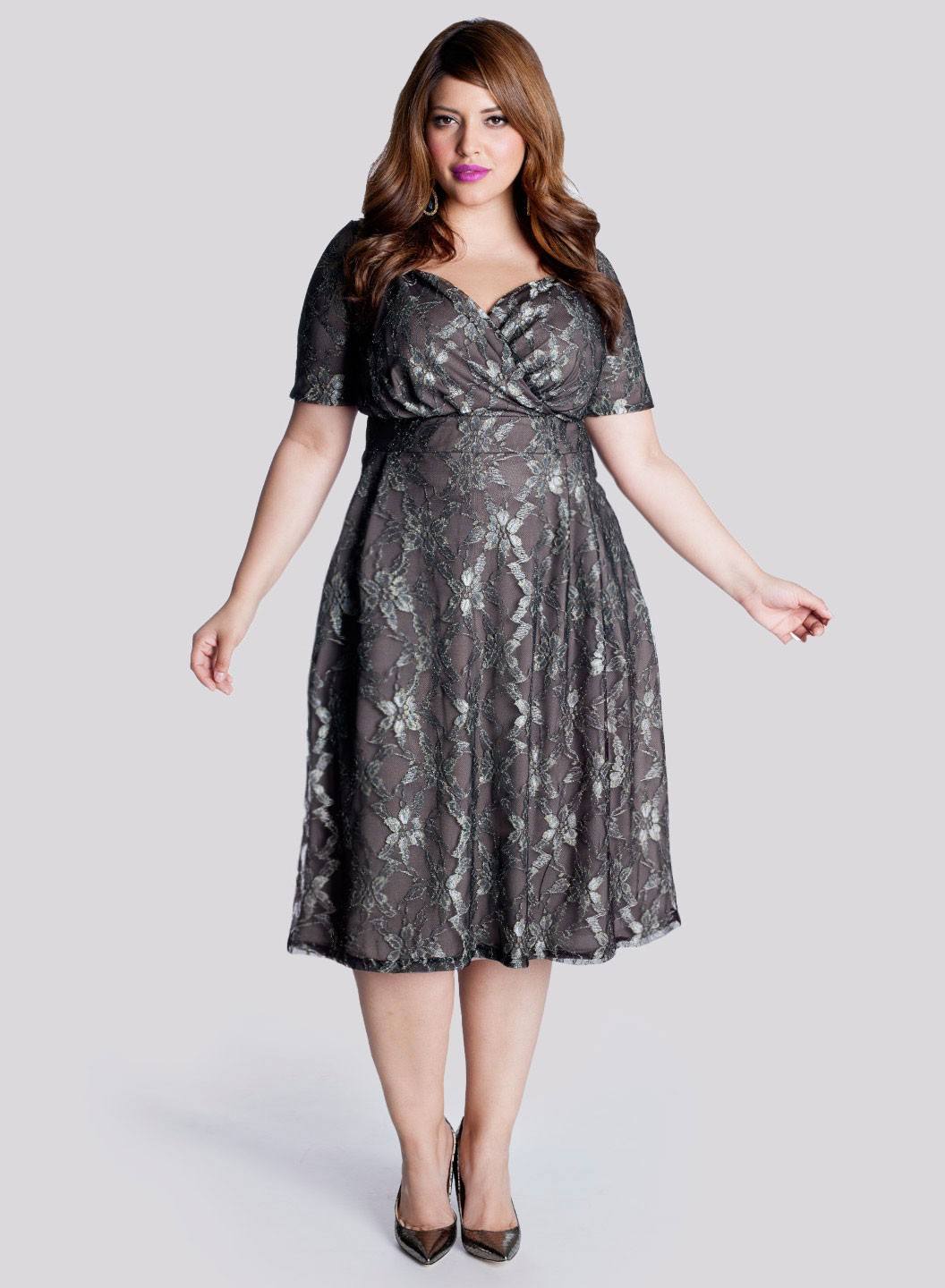 Plus Size Green Lace Dress : Make You Look Thinner - Dresses Ask