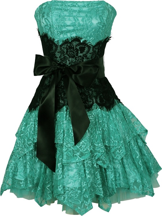 b15d104eca7 Green and black bow plus size junior prom graduation lace prom dresses. Plus  Size Green Lace Dress   Make You Look Thinner