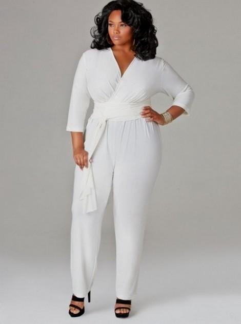 Plus Size All White Party Dresses - Dress Foto and Picture