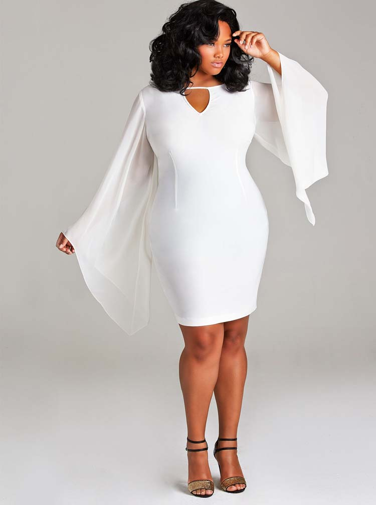 Awesome Cute White Plus Size Dresses Contemporary ...
