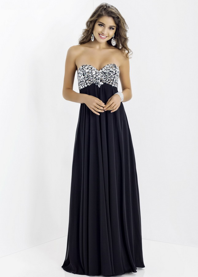 Prom Dresses All Black Be Beautiful And Chic Dresses Ask