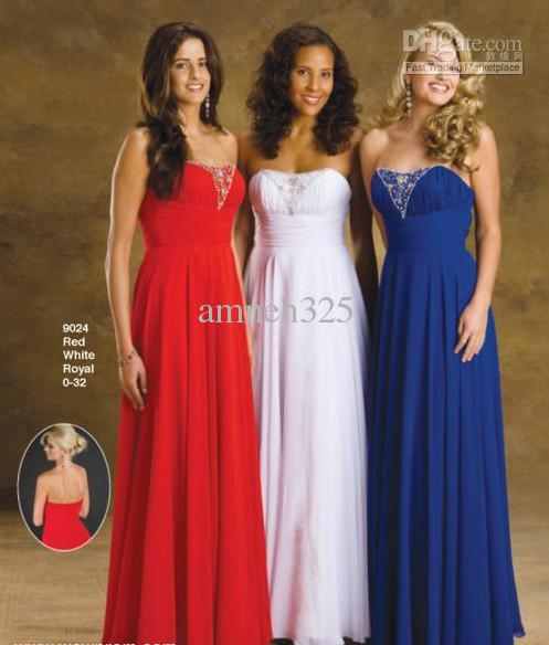Red And Blue Bridesmaid Dresses Amp For Beautiful Ladies