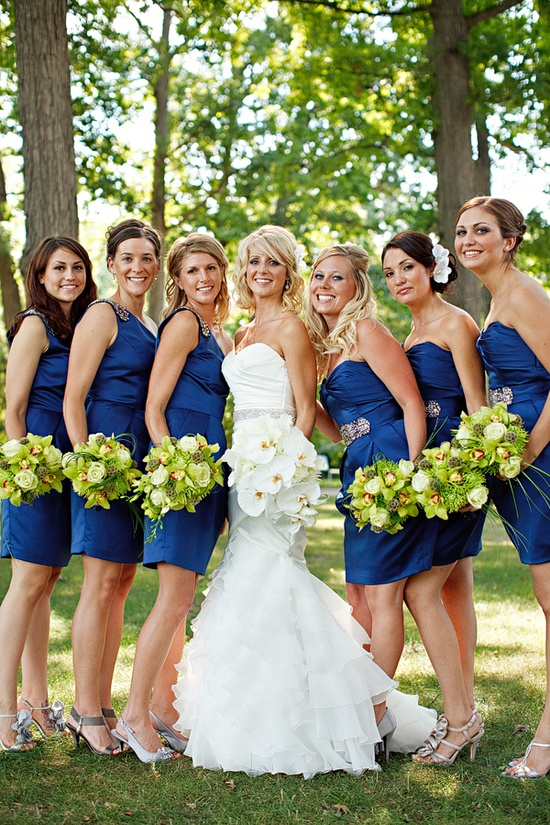 Red And Blue Bridesmaid Dresses & For Beautiful Ladies