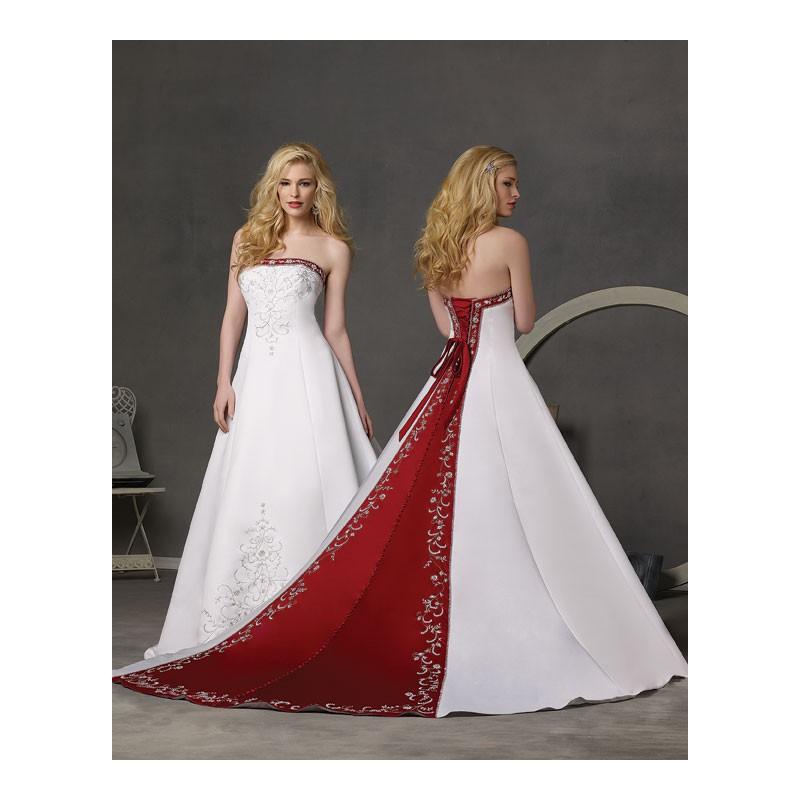 Black And Red Wedding Dress - Wedding Photography