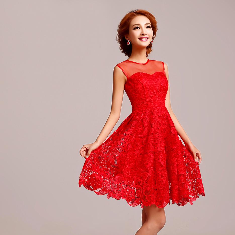Red Wedding Dresses: Red Dress Sleeveless & A Wonderful Start