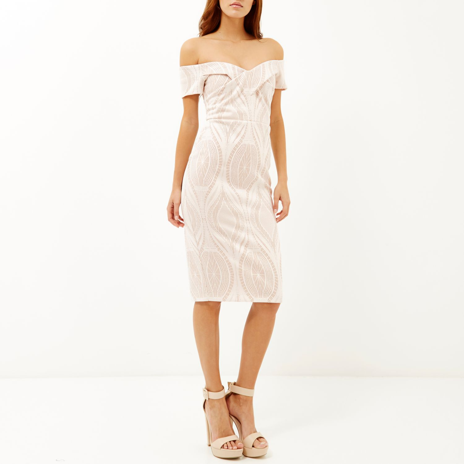 River Island Bardot Bodycon Dress : Be Beautiful And Chic ...