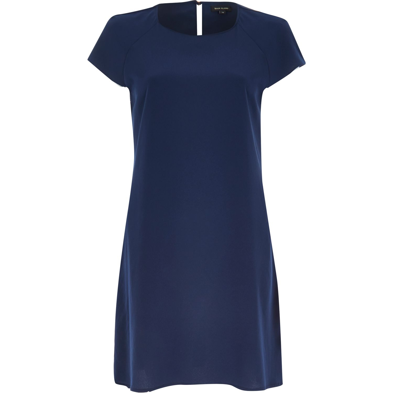 River Island Navy Lace Dress & Make You Look Thinner