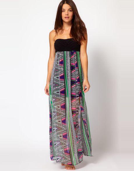 River Island Print Dress & For Beautiful Ladies