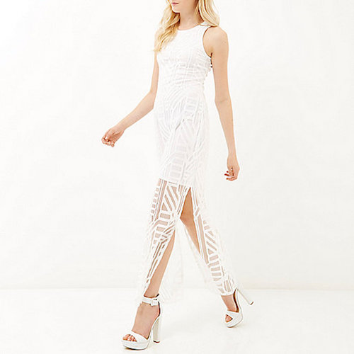 River Island White Maxi Dress : For Beautiful Ladies