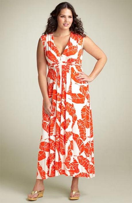 Фасоны летнего платья для полных женщин