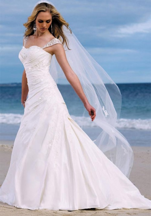 Wedding Dress Styles For Short Women Girl Dressing Style Make You Look Thinner