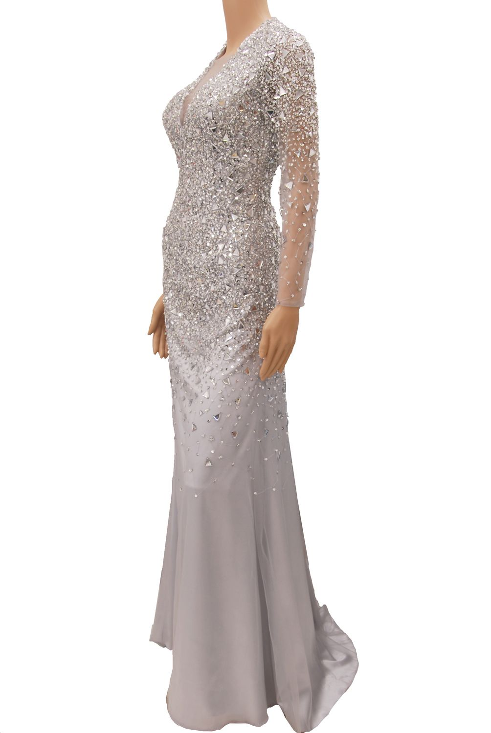 Silver Sequin Formal Dress & 20 Great Ideas - Dresses Ask