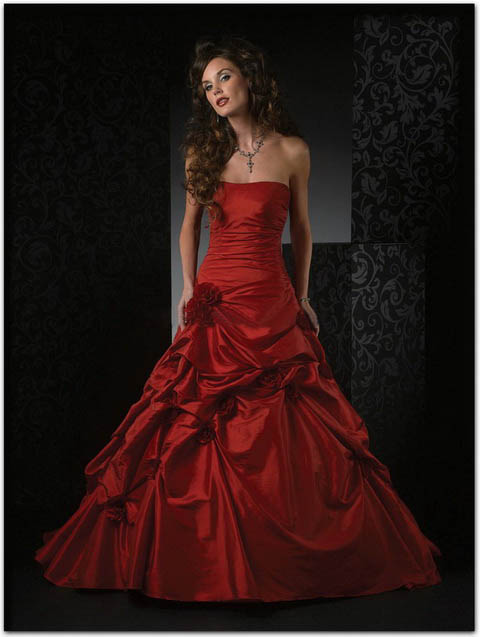 Strapless Red Bridesmaid Dresses Online Fashion Review