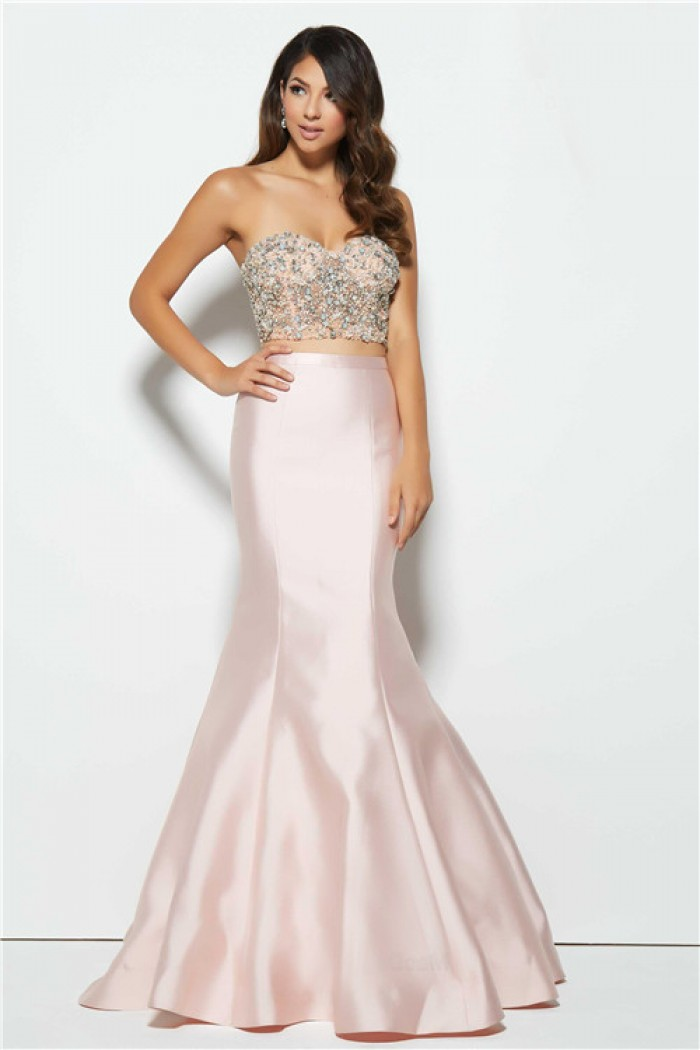 Strapless Two Piece Prom Dresses : Simple Guide To Choosing ...