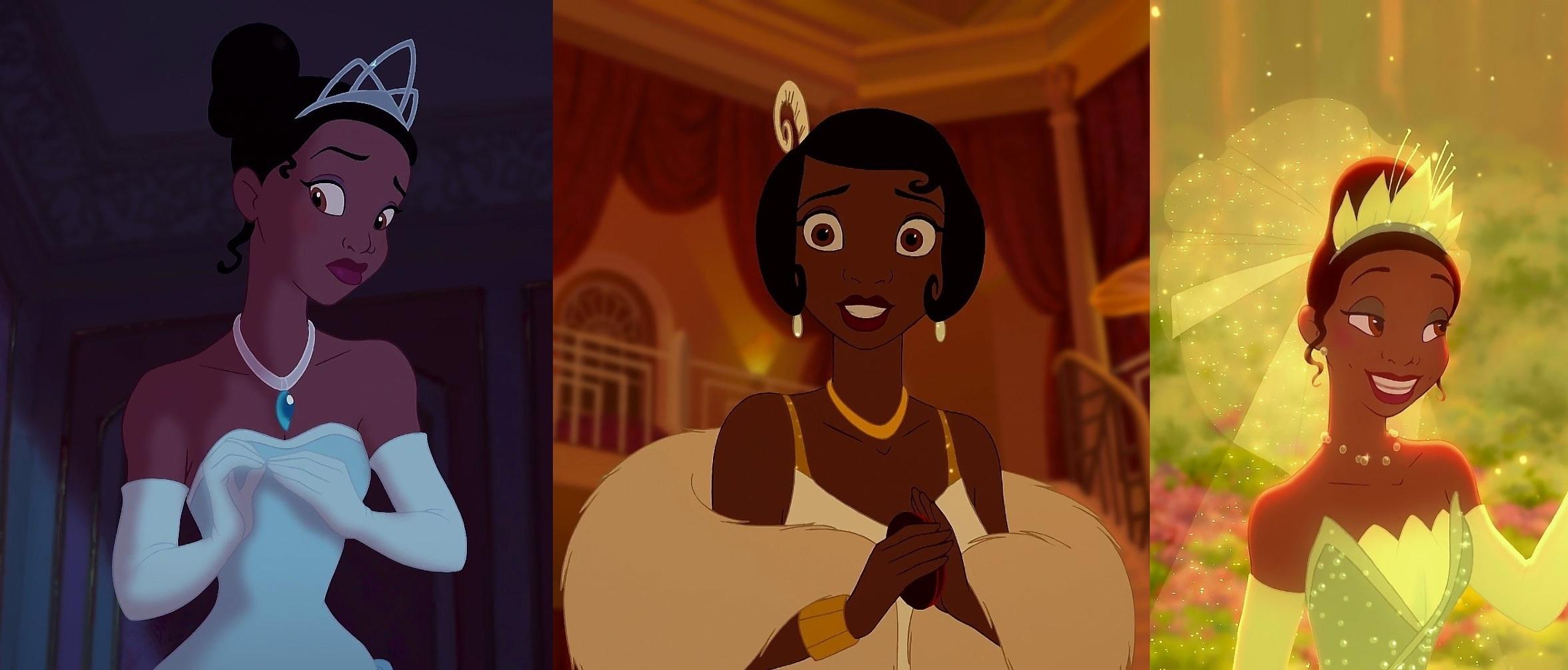 princess and the frog tiana white dress