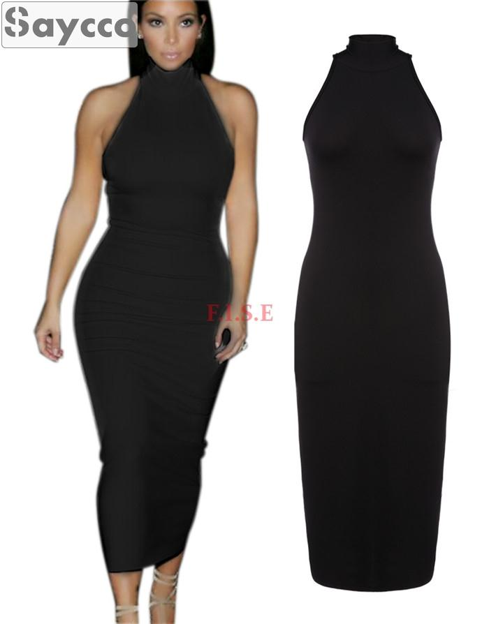 412353d87 Turtleneck Midi Bodycon Dress : Beautiful And Elegant - Dresses Ask