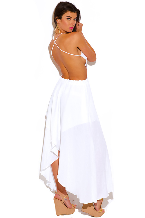 White Backless Summer Dress : Simple Guide To Choosing ...