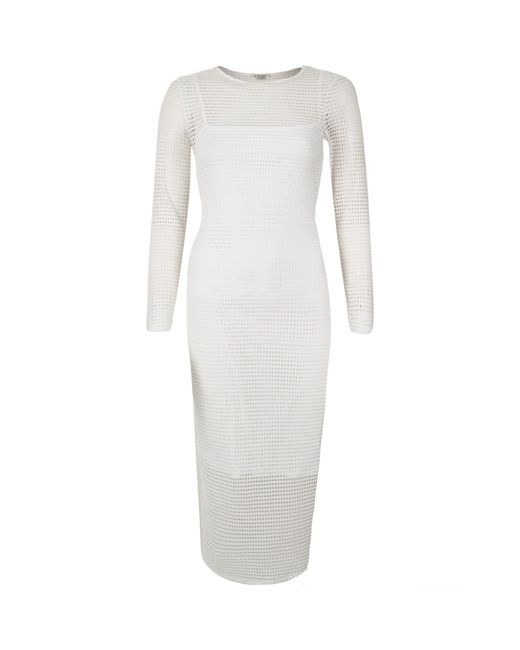 White Bodycon Dress River Island And Oscar Fashion Review