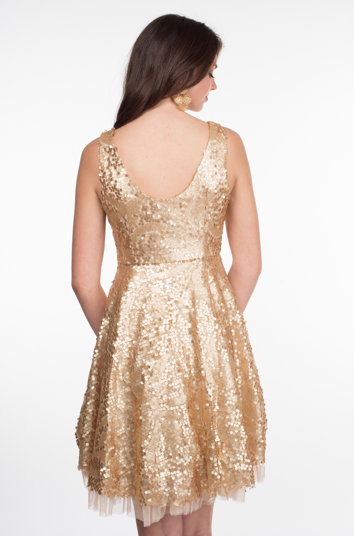White dress gold sequins make you look thinner dresses ask for Wedding dresses that make you look skinny
